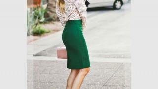 緑・グリーンのスカートに合う色や合わせ方・着こなし・コーディネート集