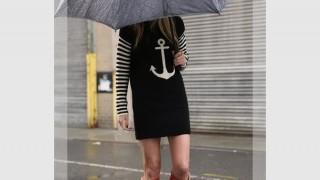 雨の日のおしゃれな着こなし・レディースコーディネート集