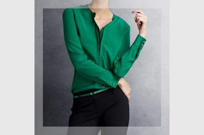 緑・グリーンのトップスに合う色や合わせ方・着こなし・コーディネート集