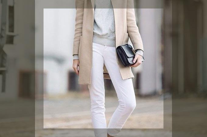 白・ホワイトパンツの着こなし・コーディネート集